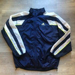 Adidas men's light windbreaker size M